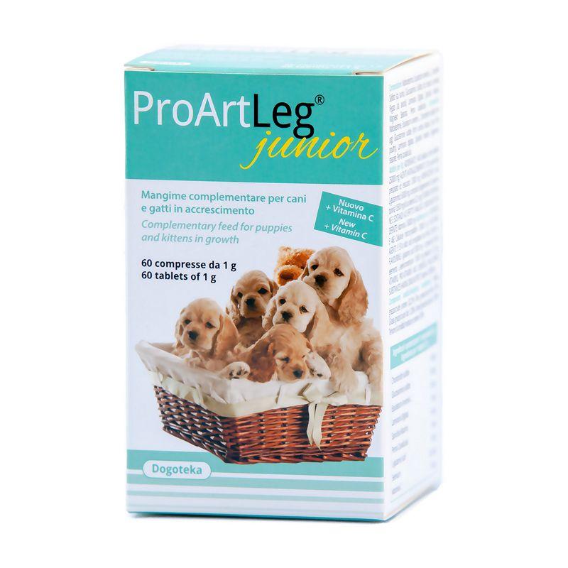 ProArtLeg® Junior je kompletní doplněk stravy pro štěňata a koťata v období růstu.
