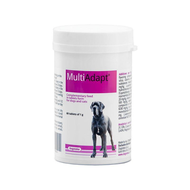 vitamínové doplňky stravy pro psy a kočky MultiAdapt po operacích, na záněty, na zlepšení imunity