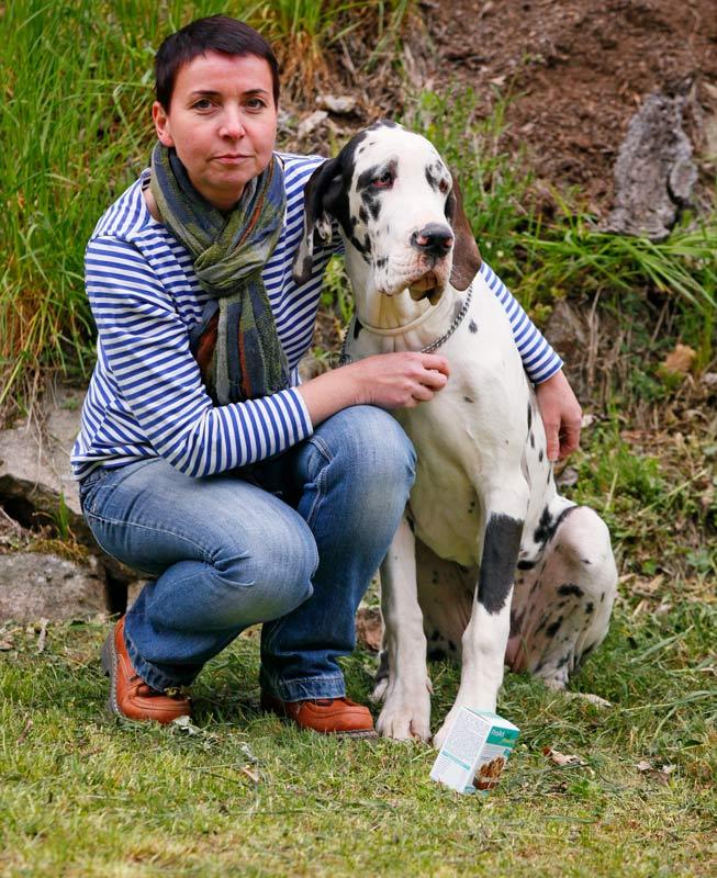 Štěně německé dogy, miluje doplněk stravy pro psy na klouby PoArtLeg Junior